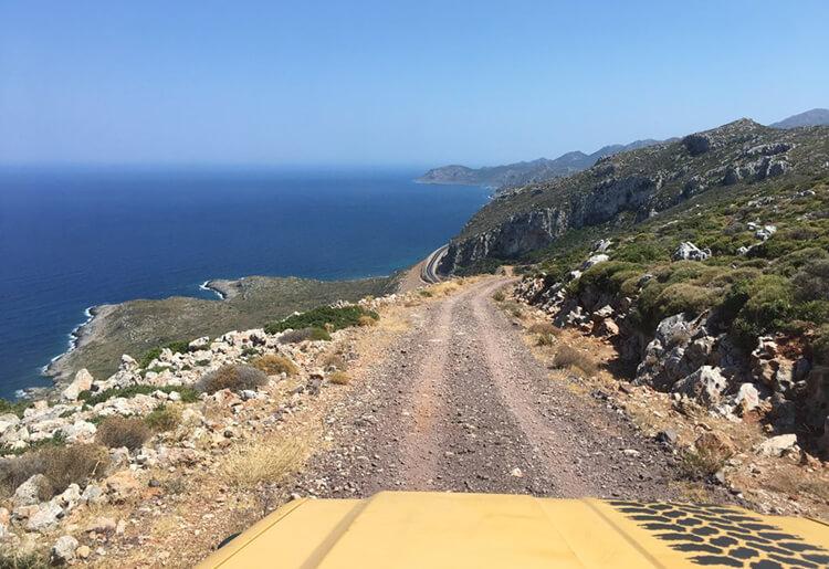 viaggi 4x4 grecia avventura