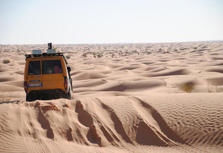 viaggi avventura 4x4 tunisia